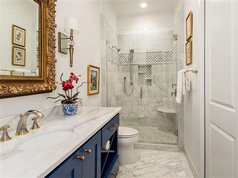 guest bathroom   luxe hotel feel
