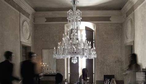 baccarat zenith chandelier  lights  philippe starck   ordinary