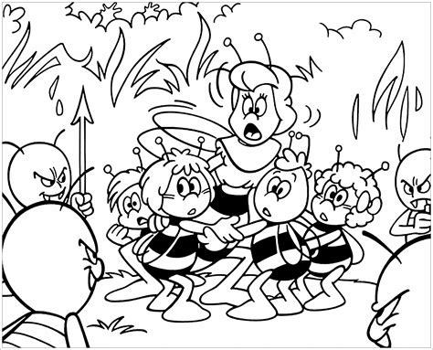 Ausmalbilder Von Die Biene