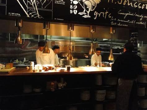 interior kitchens open restaurant kitchen design search bares