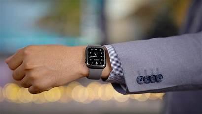 Apple Titanium Always Display Wrist Space Suit