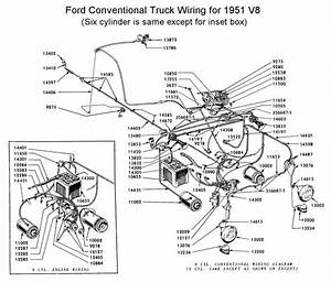 Flathead Electrical Wirediagram1951truck Jpg  700 U00d7598