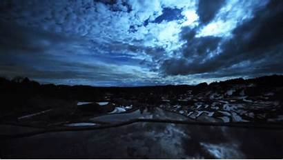 Clouds Flowing Night Cloud Lapse Sky Dark