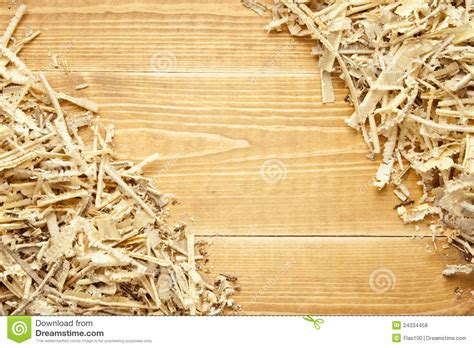 wooden sawdust  shavings background royalty  stock