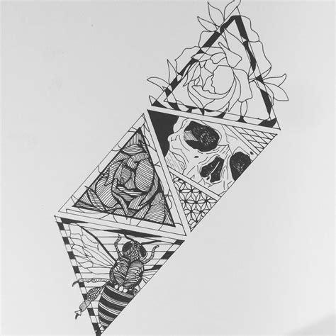 Skull Nature Pattern Art Inspirations Patterns Tattoo
