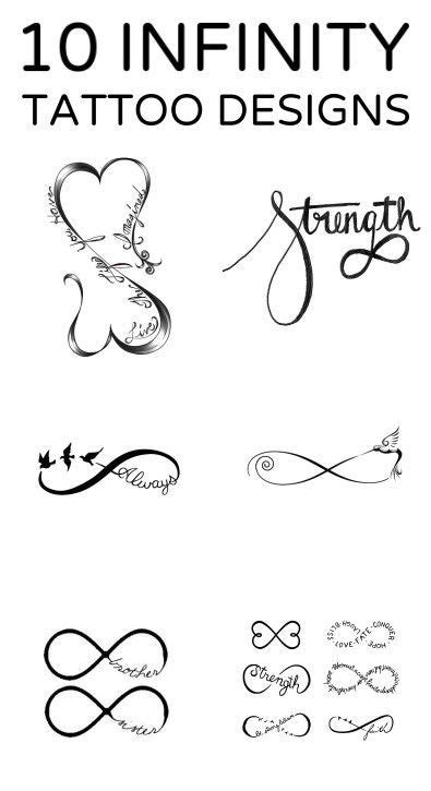 10 Infinity Tattoo Designs | Tattoo designs, Tattoos, Infinity tattoos