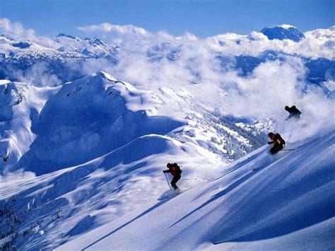 Skiing Background Snow Skiing Wallpaper Wallpapersafari