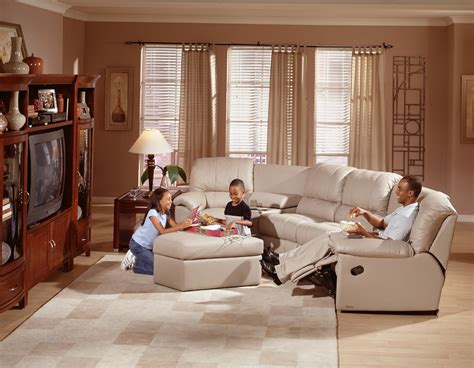 Media Room Furniture Sofa, Living Room Leather Furniture
