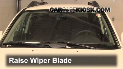 how to fix cars 2004 mitsubishi challenger windshield wipe control front wiper blade change mitsubishi endeavor 2004 2011 2011 mitsubishi endeavor ls 3 8l v6