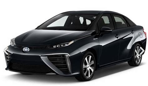 2018 Toyota Mirai Hydrogen Fuel Cell Car  Reviews, Specs