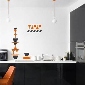 Buntes Geschirr Set : wandtattoo buntes geschirr set ~ Sanjose-hotels-ca.com Haus und Dekorationen