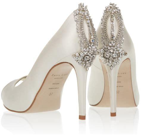 wedding shoes designer freya bridal shoes the manhattan collection