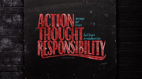 action thought responsibility popular quote  wallpapers