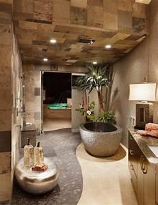 deco salle de bain zen bambou With faience salle de bain zen