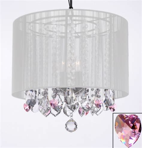 white and pink chandelier chandelier chandeliers with large white shade and
