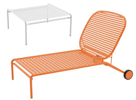chaise de jardin aluminium stunning chaise salon de jardin orange photos design