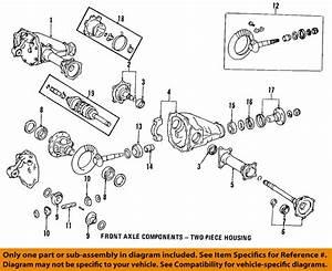 Toyota Oem Front Axle