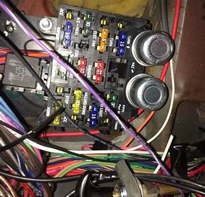 In Our Garage  Installing A New Wiring Harness
