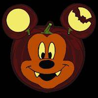 mickey vampire stoneykins pumpkin carving patterns and With vampire mickey mouse pumpkin template