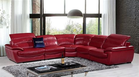 red sectional sofa with recliner red sectional leather sofa modern red leather sectional