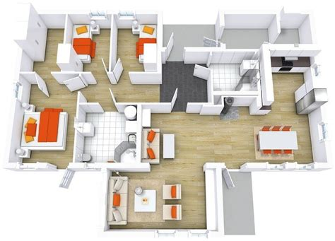 Modern Floor Plans For New Homes by Beautiful Modern Houses Floor Plan New Home Plans Design