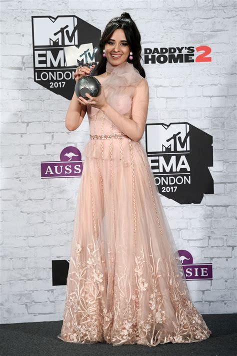 Camila Cabello Mtv Europe Music Awards London