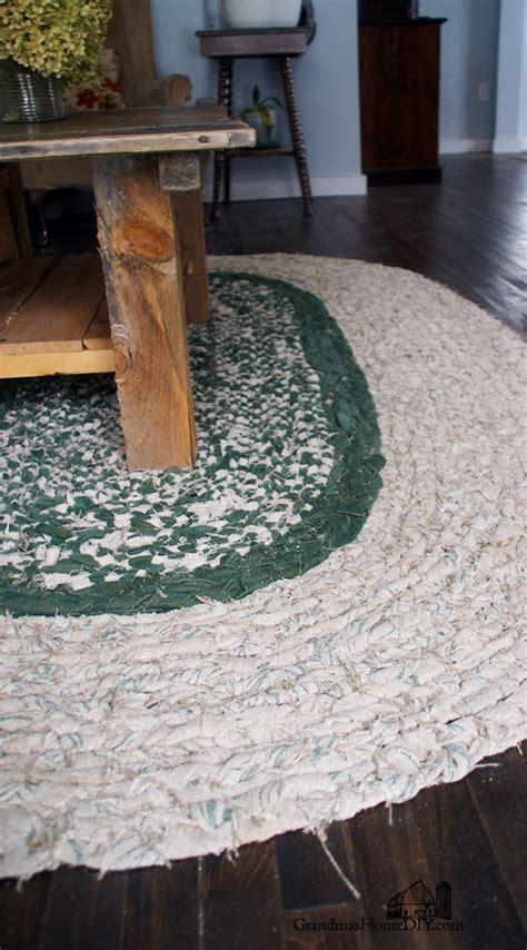 braid   large rag area rug grandmas