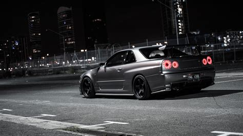 nissan skyline drift wallpaper nissan skyline r34 gt r car hd wallpaper 1920x1080 9438