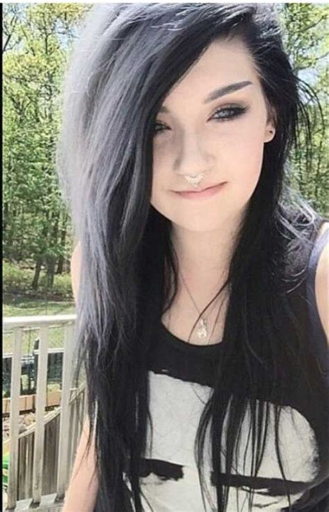 black and white hair color 15 black color hairstyles hairstyles haircuts 2016 2017