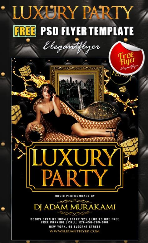 Free Club Flyer Templates by 31 Free Psd Club Flyer Templates March 2015 Edition