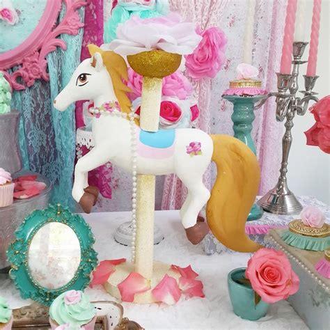 kara 39 s party ideas royal carousel themed birthday kara 39 s party ideas pastel carousel themed birthday party