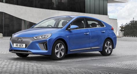 Green Car Electric by Driving The Future Hyundai Ioniq Electric Is