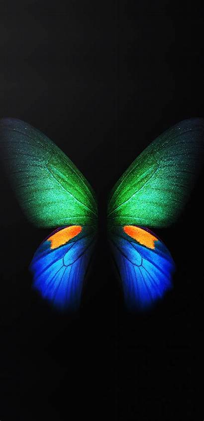 Samsung Galaxy Fold Phone Wallpapers S10 Butterfly