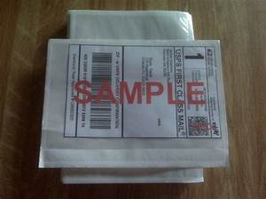 7quot x 55quot clear adhesive top loading packing list label for Document pouch for shipping