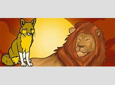 The Lion and a Clever Fox • Moral Stories