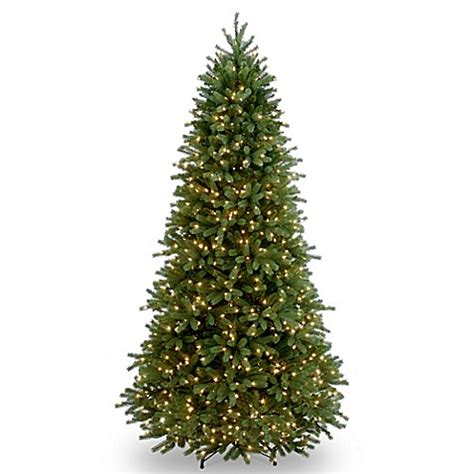 national tree company 7 5 foot jersey fraser fir pre lit