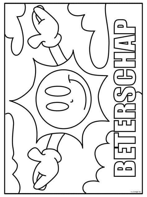 Beter Kleurplaten by Kleurplaat Beterschap Kleurplaten Nl