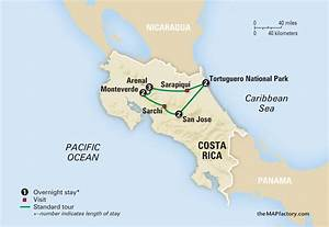 Costa Rica Rainforest Map Pictures to Pin on Pinterest ...