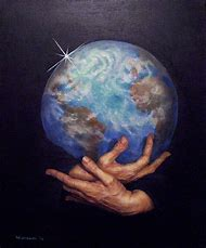 Peace On Earth Painting