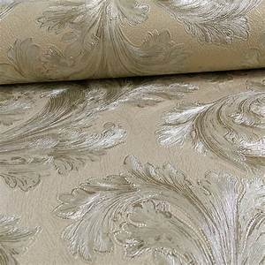 Arthouse Vintage Safina Feather Pattern Leaf Glitter ...