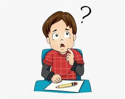 Thinking Clipart Student Clip Lecture Education Advantages