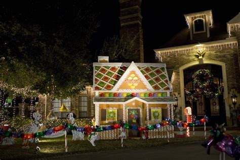 life size gingerbread house holiday decorations
