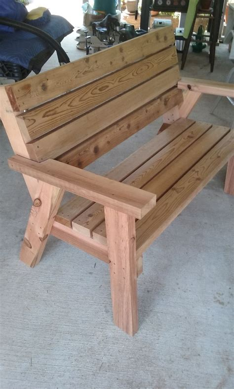 wooden bench seat ideas  pinterest wooden