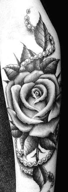 Rose With Pearls   ♥ TATTOOS ♥   Pinterest   Pearls, Rose
