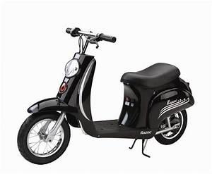 Razor Black Vintage 24v Electric Scooter - £339.95 : Kids ...