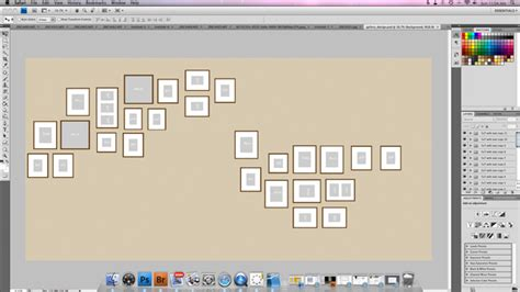 gallery wall template generator how to design your own wall gallery
