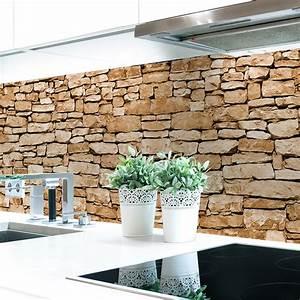 Küchenrückwand Hart Pvc : k chenr ckwand naturstein braun premium hart pvc 0 4 mm selbstklebend direkt auf die fliesen ~ Orissabook.com Haus und Dekorationen