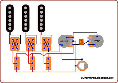 the guitar wiring diagrams and tips the brian may s guitar wiring modification guitar