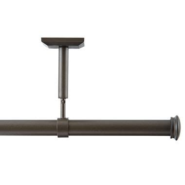 jcpenney studio curtain rods 25 best ideas about ceiling mount curtain rods on