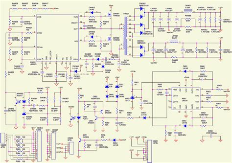 lc4245w toshiba lcd tv power supply schematic circuit